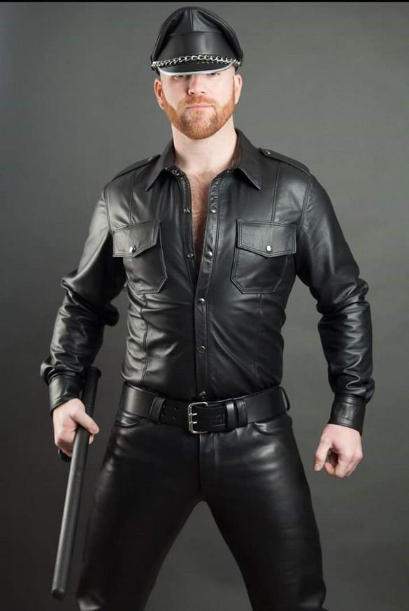 Pinterest, no date. The uniformed man, in this example a police officer, is an example of the masculine archetype being reclaimed and sexualized by the gay man.