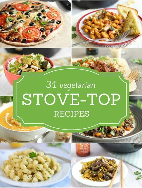 A collection of 31 delicious and easy vegetarian stove-top recipes for MoneySuperMarket