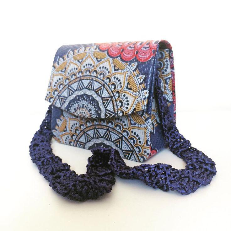 Bolsa Flor geométrica  #bolsa #handmade #feitoamao #fortaleza #slowfashion