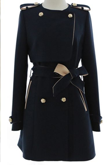 Double-breasted Trench Coat Outerwear