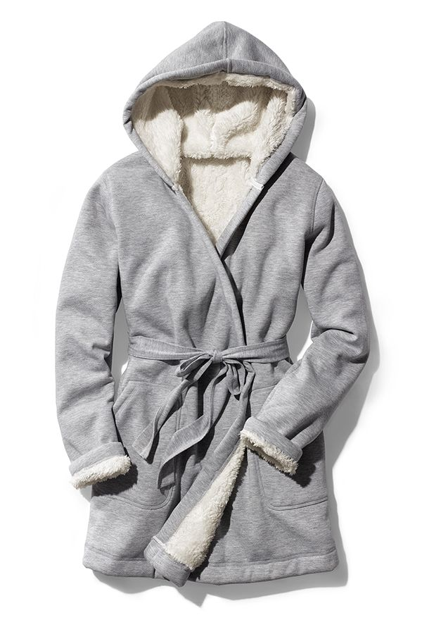 Give Her Something To Relax In Gap S Sherpa Lined Hooded