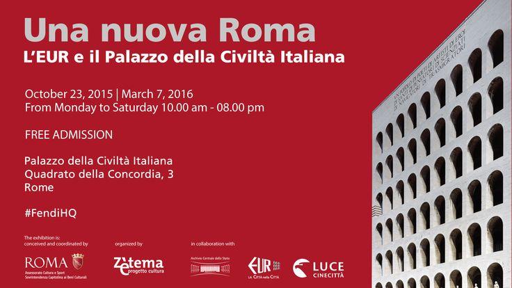 FENDI   Mostra - Una nuova Roma
