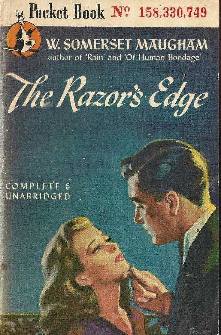 Pocket Book 418 The Razors Edge W. Somerset Maugham Vintage Paperback