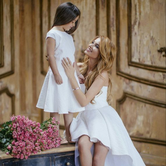 8 Best Mother Daughter Matching Dresses Images On Pinterest Mother