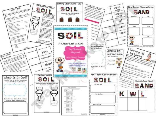 Soil unit plants pinterest for Soil 4 teachers
