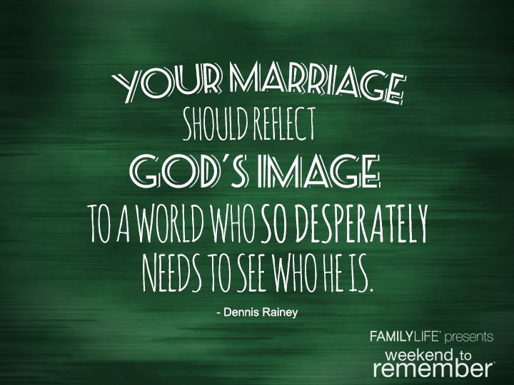 """God's Purposes for Marriage"" by Dennis Rainey"