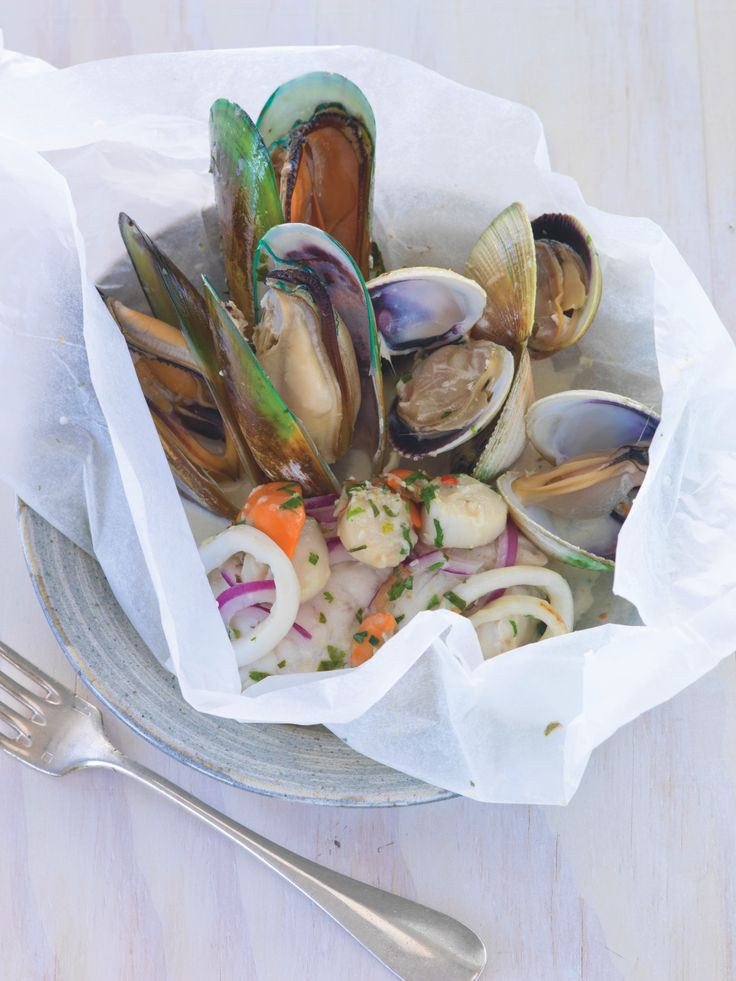 Fit Food by Petra New – Coconut and Chilli Seafood Parcels – New Zealand Fitness magazine April/May 2014