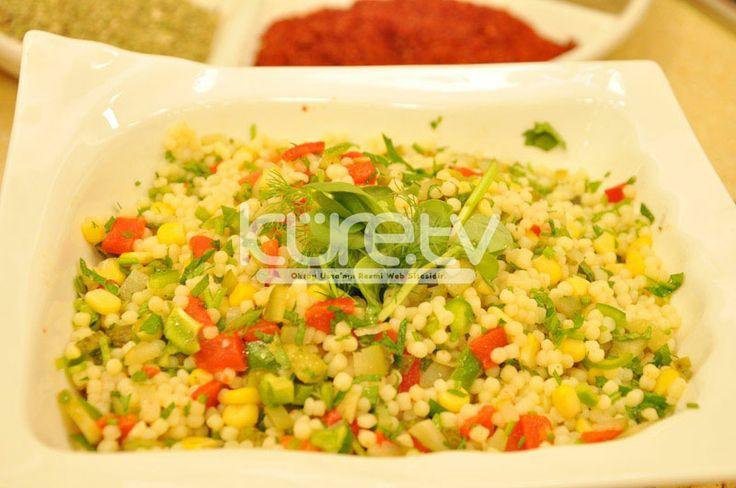 Kuskuslu Kırmızı Biberli Salata   Oktay Usta [ Resmi Web Sitesi ]