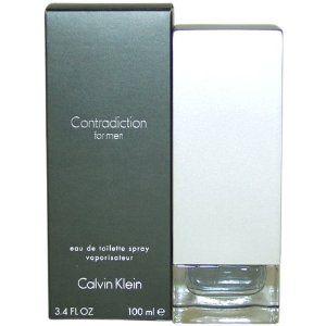 Contradiction by Calvin Klein for Men, Eau De Toilette Spray, 3.4 Ounce,$22.59