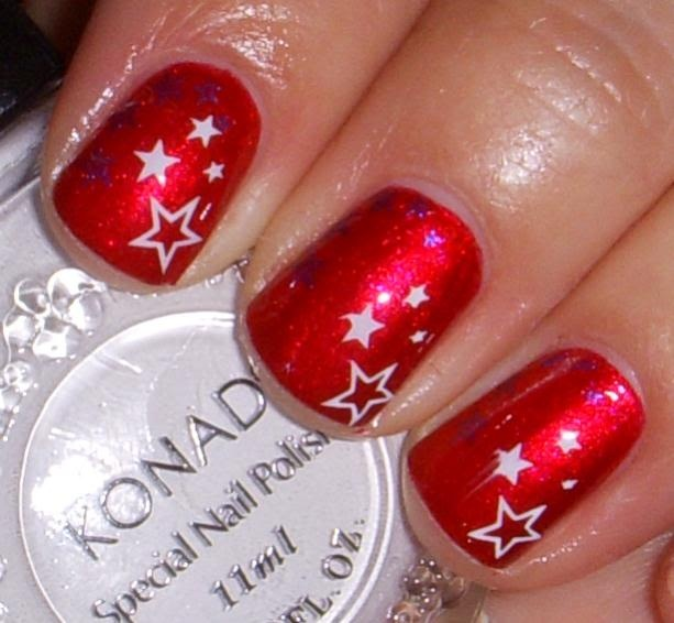 How to use Konad nail stamping