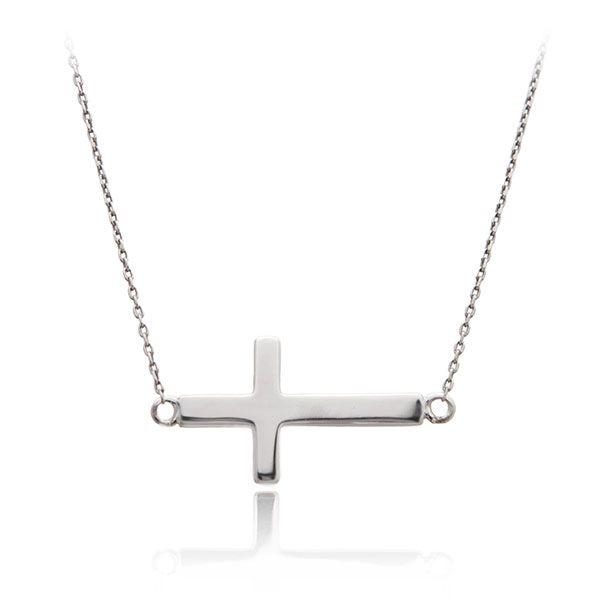 Srebrny krzyż poprzeczny HIT wśród Celebrytek DUŻY