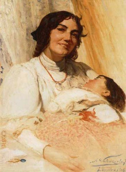 1037 Best Images About Art Mother And Child Arte Madre Y