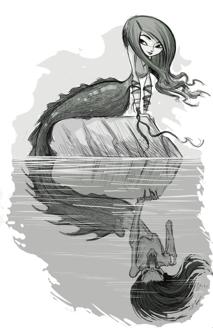 how to draw a siren greek mythology
