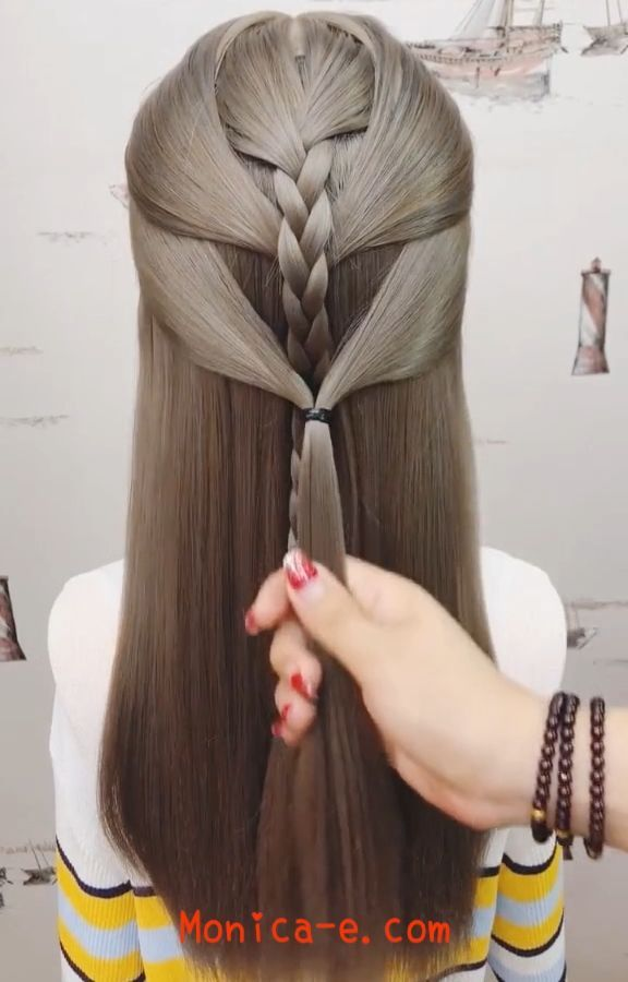 Hairstyle Videos For Long Hair In 2020 Hair Styles Bridesmaid Hair Hair