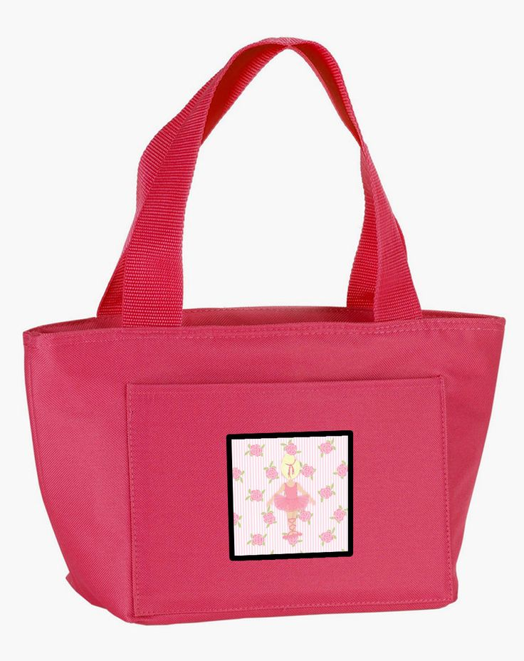 Ballerina Blonde Back Pose Lunch Bag BB5167PK-8808