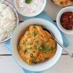 Kylling tikka masala med raita
