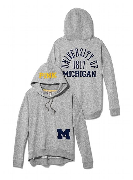 Victoria's Secret PINK University of Michigan Slouchy Hoodie #VictoriasSecret http://www.victoriassecret.com/pink/university-of-michigan/university-of-michigan-slouchy-hoodie-victorias-secret-pink?ProductID=71316=OLS?cm_mmc=pinterest-_-product-_-x-_-x