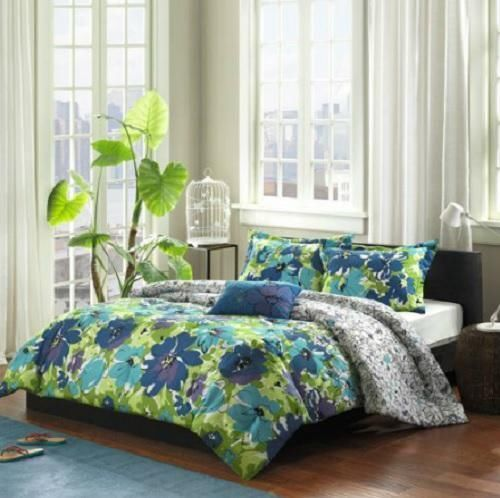Floral comforter xl girls and bedding sets on pinterest