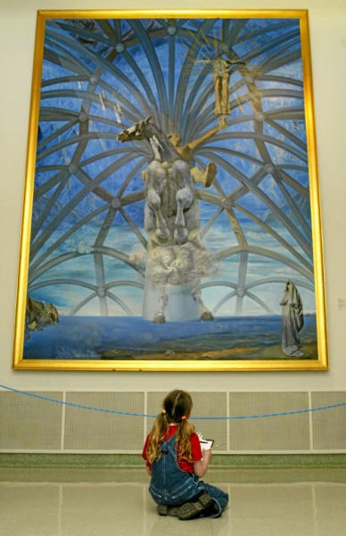 Salvadore Dali, Beaverbrook Art Gallery, Fredericton, NB