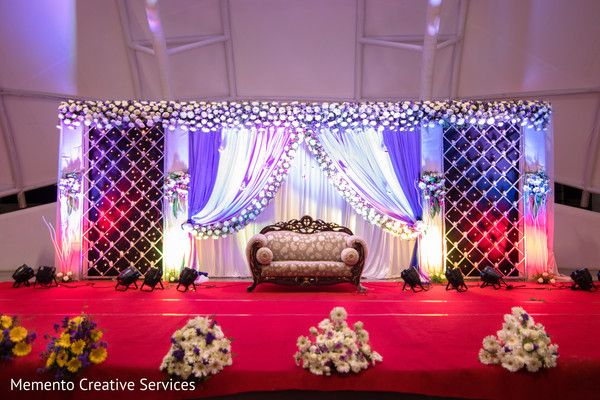 Indian Wedding Reception Stage Decor Reception Stage Decor