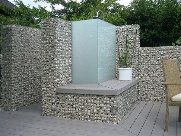 ber ideen zu gartendusche auf pinterest au enduschen vorh nge und duschvorh nge. Black Bedroom Furniture Sets. Home Design Ideas