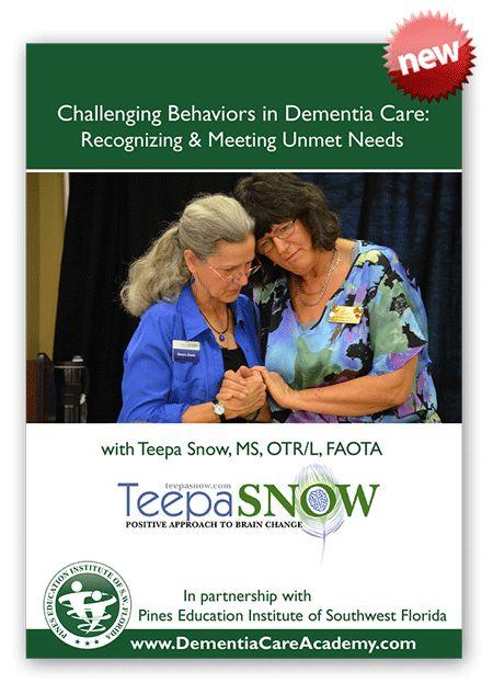 Dementia Care Academy | Training Videos DVDs Educational Programs Teepa Snow | Alzheimers Dementia