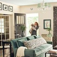 Green and Grey Living Room Ideas