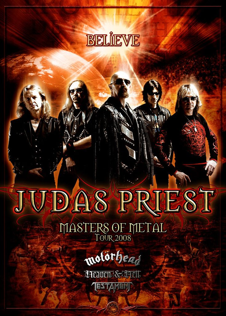 Judas Priest Masters of Metal by brunomazzini on deviantART