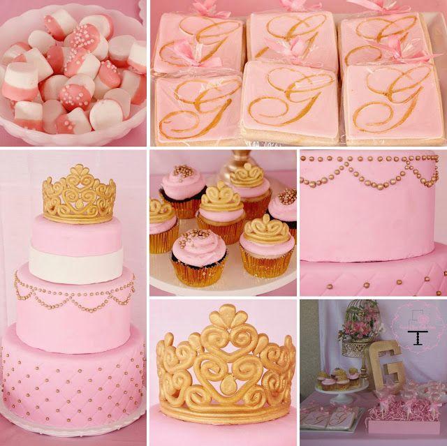 royal shower pastel cakesthemed baby