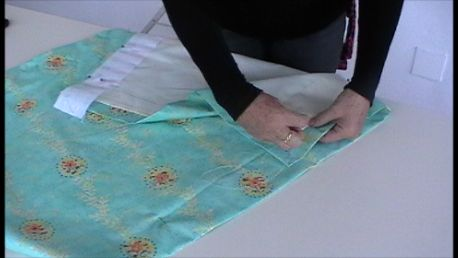 homemade pencil pleat curtains