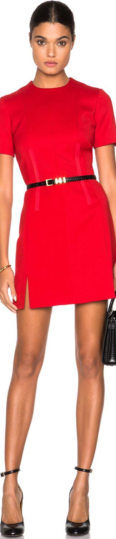 Carven Slit Mini Dress | LOLO     ᘡղbᘠ