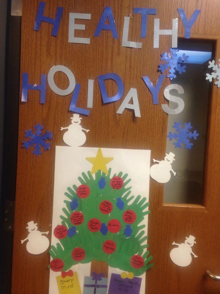 Classroom Door Decoration Ideas Spring ~ Images about health bulletin board school nurse on