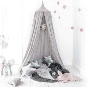 Sengehimmel (Silver Grey Canopy Bed by Numero 74)