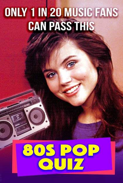 Quiz: Only 1 in 20 Music Fans Can Pass This 80s Pop Quiz
