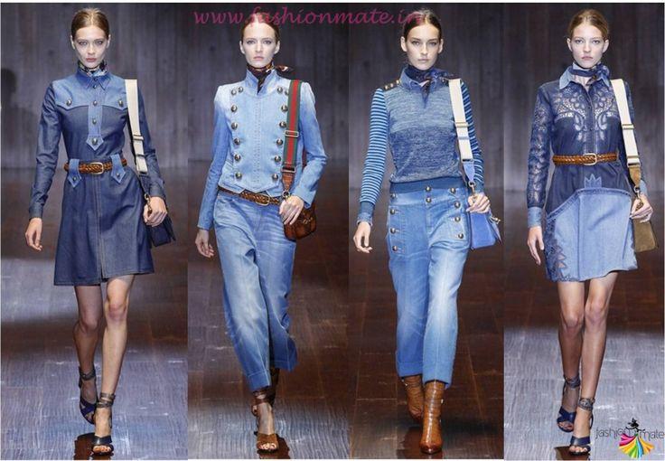 Top fashion trends spring summer 2015 - Denim dress overalls
