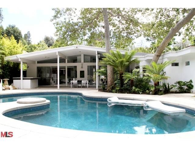 great mid century house in brentwood