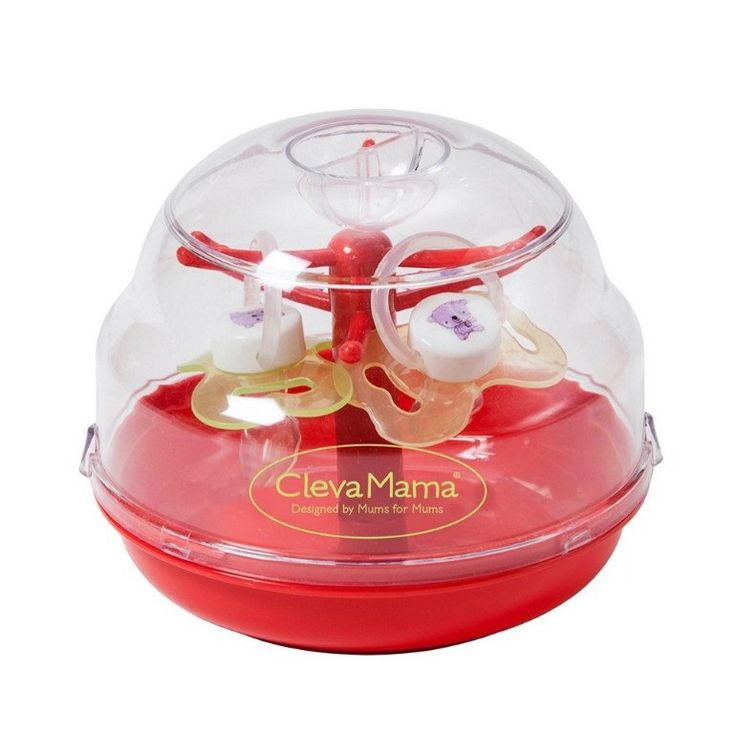 Clevamama Microwave Soother Dummy Tree Steriliser   2 FREE Soothers