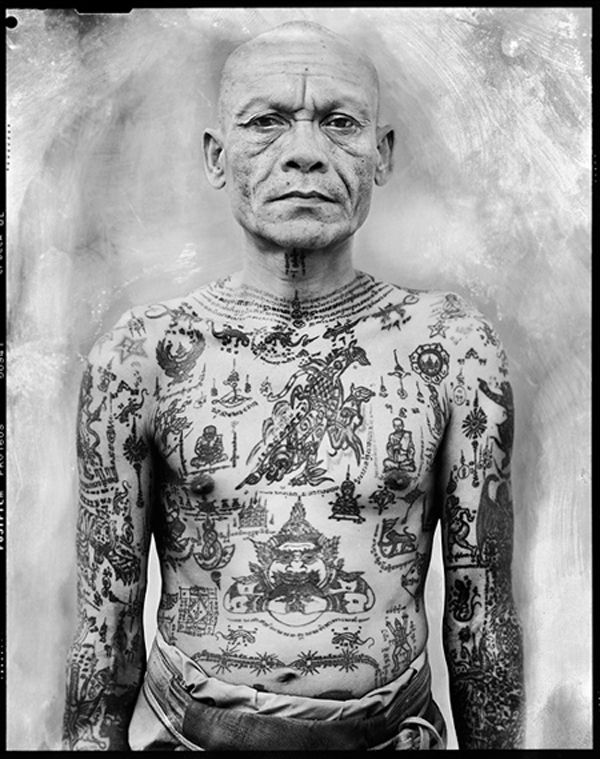 Sacred ink Sak Yant Cedric Arnold7 Photographic journey to Thailands sacred ink