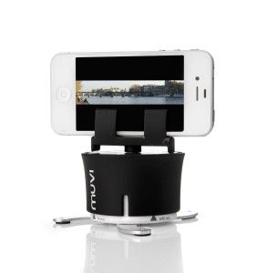 Cool Spy Gadgets: Veho VCC-100-XL MUVI X-Lapse 360-Degree Photography and Timelapse Accessory for iPhone/Action Cameras/Time Lapse Cameras (Black)