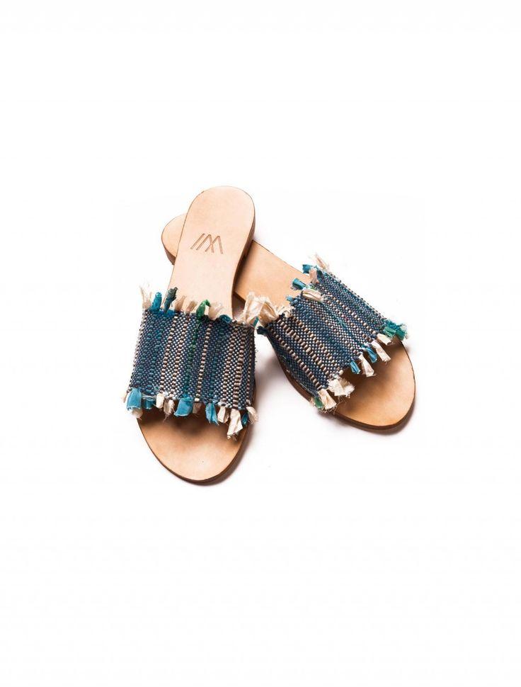 SA1 from PointLoom #greeksandals #handwoven #handmade #fashion