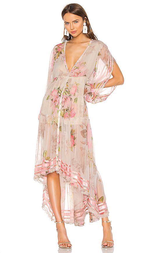 d033aa15b8b ROCOCO SAND Melody Maxi Dress in Colorful