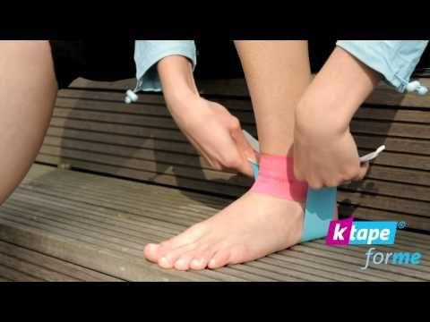 K-Tape for me - Bei Schmerzen im Sprunggelenk (neuer Film) - YouTube