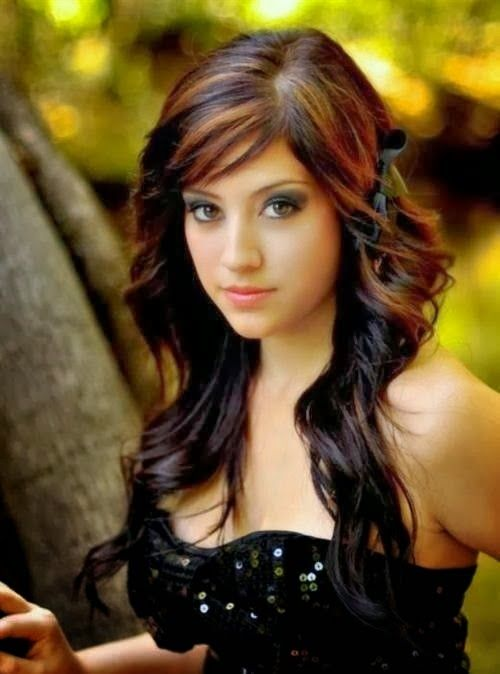 The 25 best pakistani girl hair highlights ideas on pinterest how to pick highlights for dark brown hair pmusecretfo Image collections