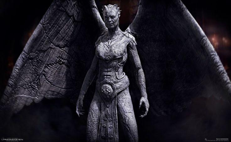 gargoyles movie   Gargoyle Queen - I Frankenstein