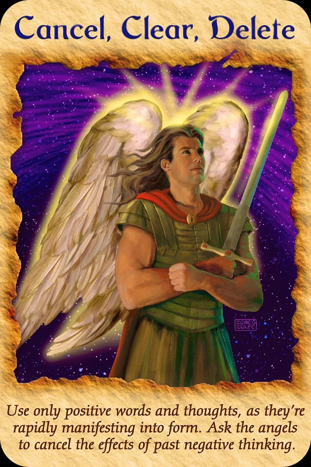 Image result for archangel michael oracle cards