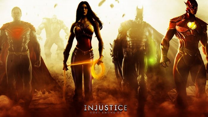 Batman Wonder Woman Video Games Superman Flash Justice League Injustice Gods Among Us Wallpaper Wonder Woman Batman And Superman Superhero