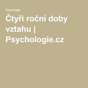 Čtyři roční doby vztahu | Psychologie.cz