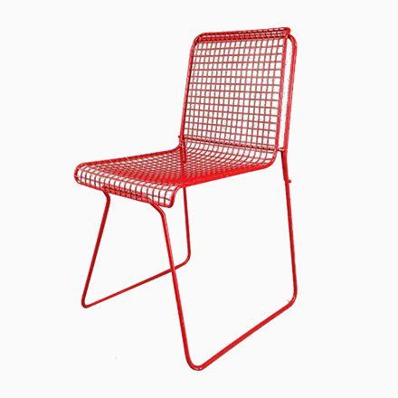 Die besten 25+ Rote stühle Ideen auf Pinterest Stuhl