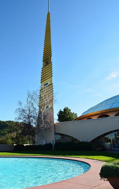 Marin County Civic Center.  San Rafael, California. Frank Lloyd Wright. 1960 - 76