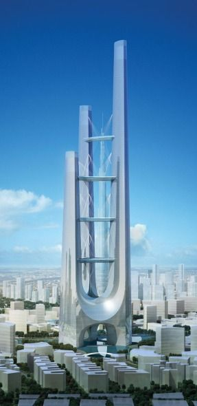 Les 25 meilleures id es de la cat gorie edificios arquitectonicos sur pinterest architecture - Modern architectural trio ...
